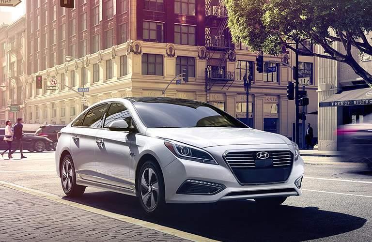 2018 Hyundai Sonata Hybrid Exterior