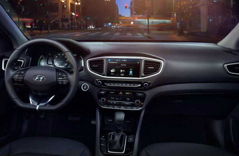 2017 Hyundai Ioniq Hybrid Touchscreen