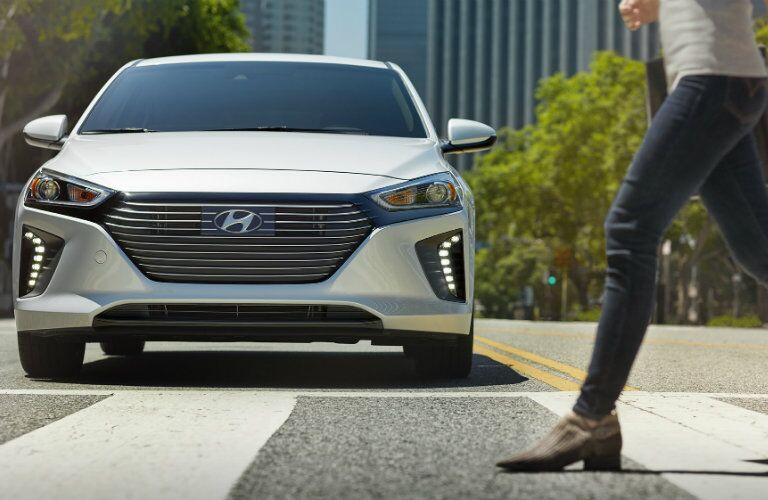 2017 Hyundai Ioniq Hybrid Pedestrian Detection