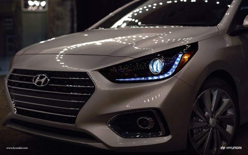 2018 Hyundai Accent Front Fascia