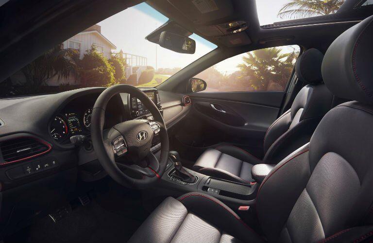 2018 Hyundai Elantra GT Interior Cabin Front Seat