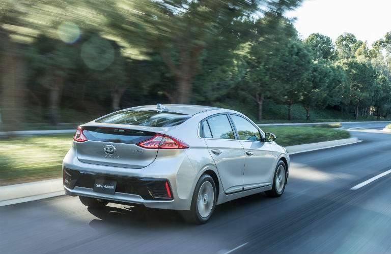 2018 Hyundai Ioniq Electric Exterior Rear Profile