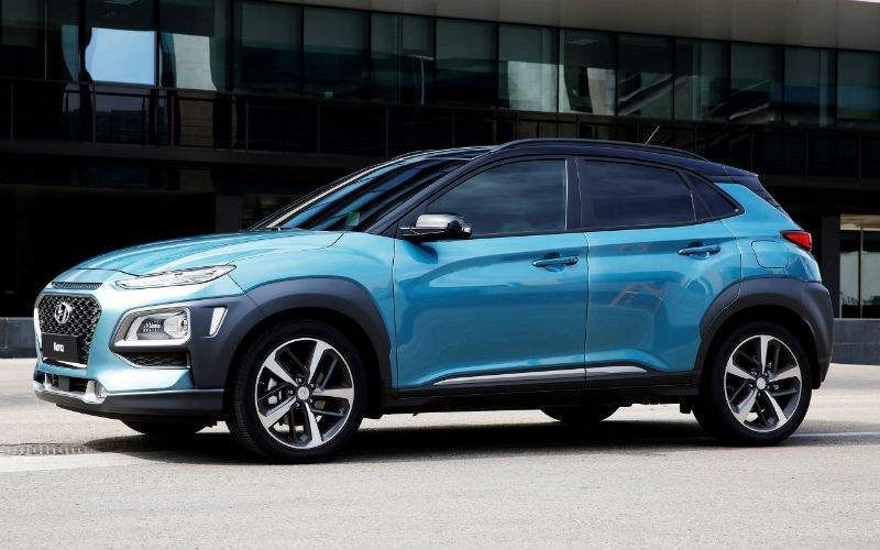 2018 Hyundai Kona Side Profile View