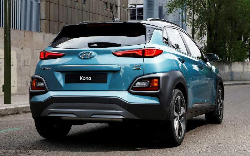 2018 Hyundai Kona Rear Profile View