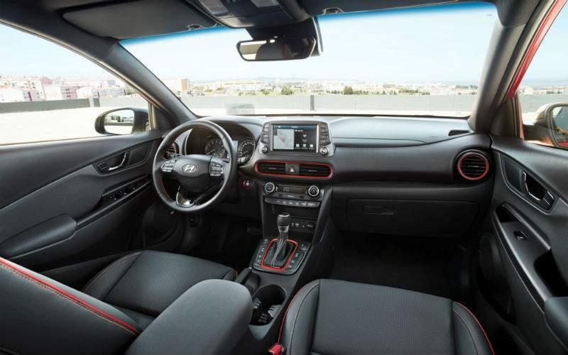 2018 Hyundai Kona Interior Cabin Dashboard