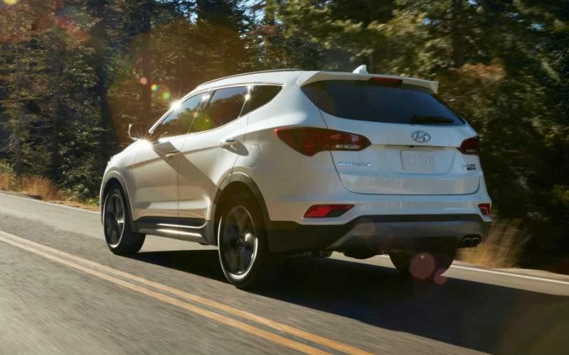 2018 Hyundai Santa Fe Sport Exterior Rear Profile