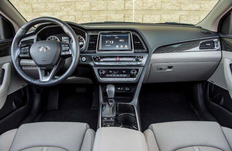 2018 Hyundai Sonata Interior Cabin Dashboard