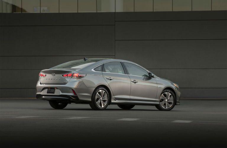 2018 Hyundai Sonata Hybrid Exterior Passenger Side Rear Profile