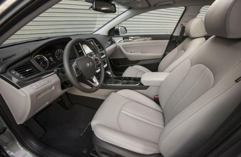 2018 Hyundai Sonata Hybrid Interior Cabin Front Seat & Dashboard