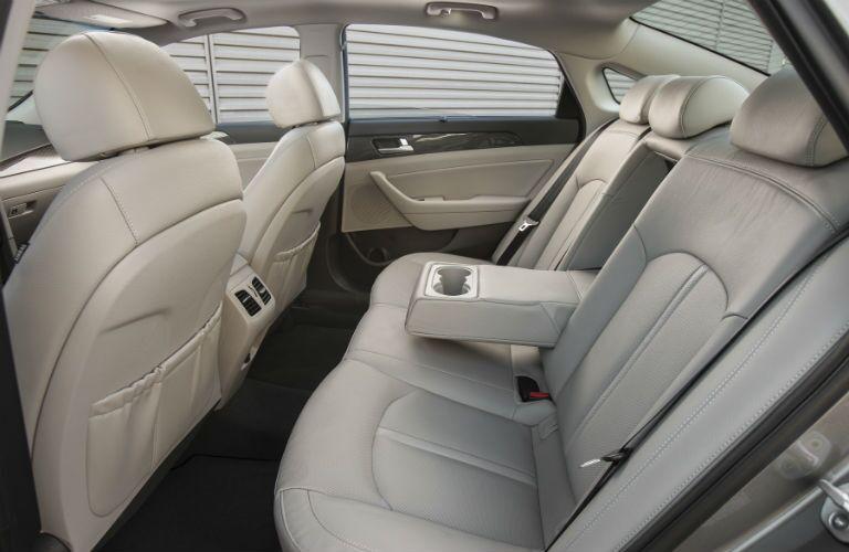 2018 Hyundai Sonata Hybrid Interior Cabin Rear Seat