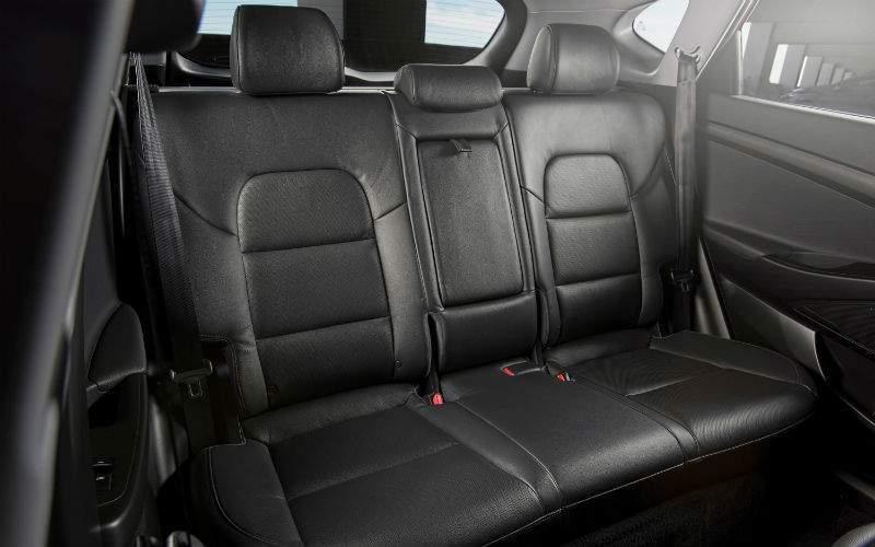 2018 Hyundai Tucson Interior Cabin Back Seat
