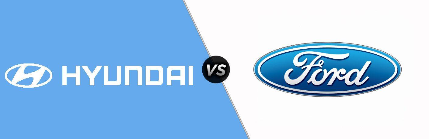 Hyundai Logo vs Ford Logo