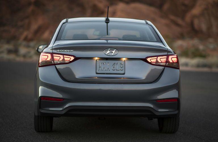 2018 Hyundai Accent Exterior Rear Fascia