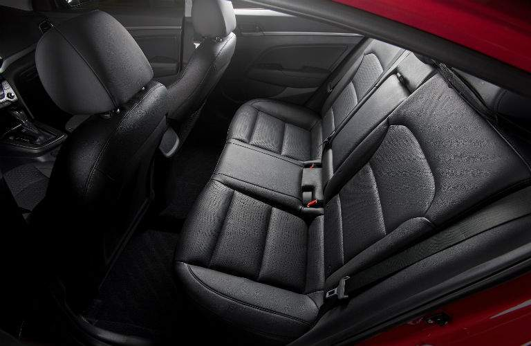 2018 Hyundai Elantra Interior Rear Seat