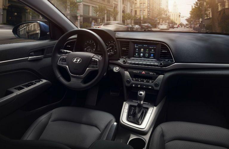 2018 Hyundai Elantra Interior Cabin Front Dashboard
