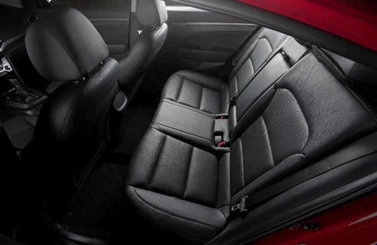 2018 Hyundai Elantra Interior Cabin Rear Seating