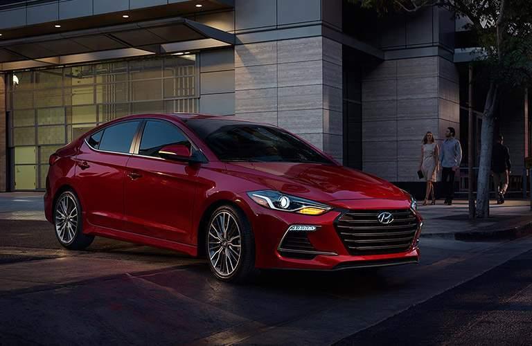 2018 Hyundai Elantra Exterior Front Passenger Side Profile