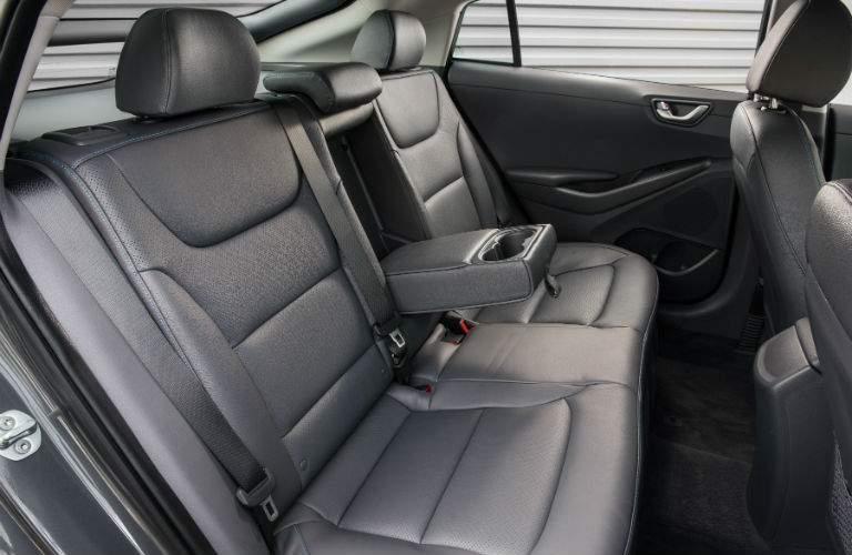 2018 Hyundai Ioniq Hybrid Interior Rear