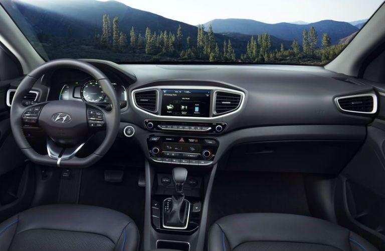 2018 Hyundai Ioniq Hybrid Interior Cabin Front Seat & Dashboard