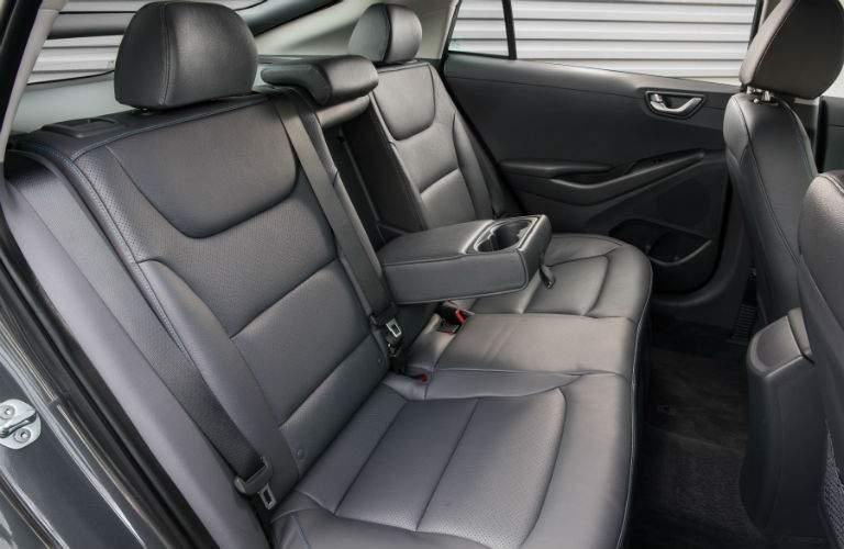 2018 Hyundai Ioniq Hybrid Interior Cabin Rear Seat