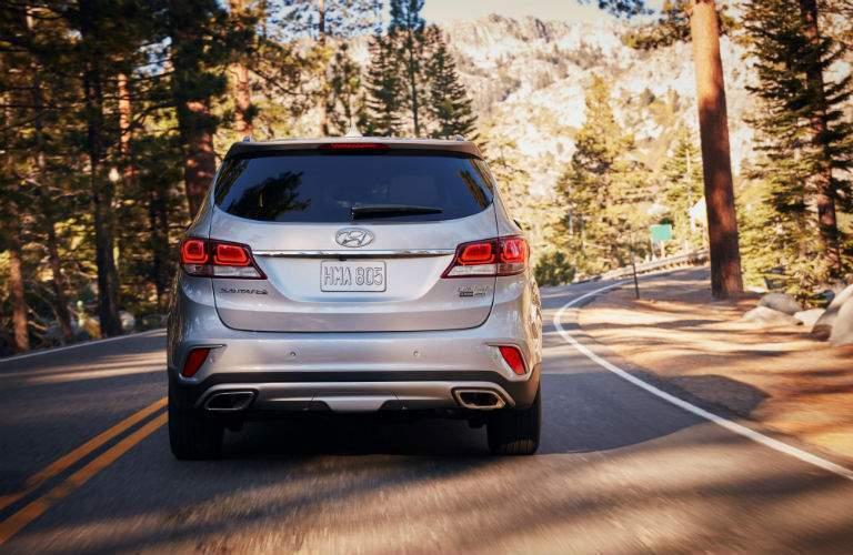 2018 Hyundai Santa Fe Exterior Rear