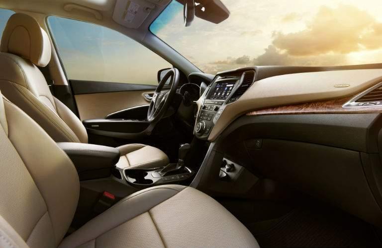 2018 Hyundai Santa Fe Interior Cabin