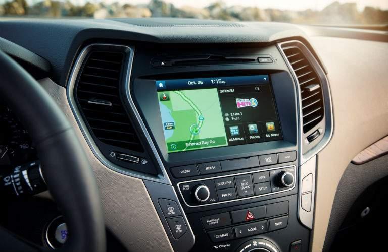 2018 Hyundai Santa Fe Display Audio