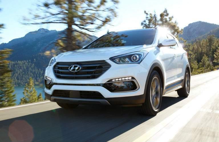 2018 Hyundai Santa Fe Sport Exterior Front