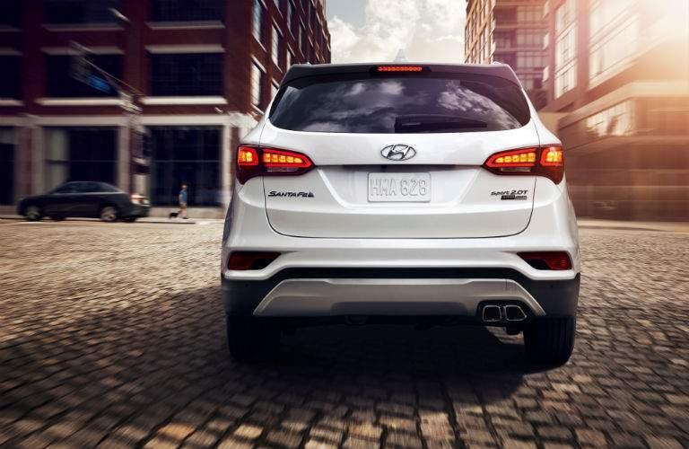 2018 Hyundai Santa Fe Sport Exterior Rear