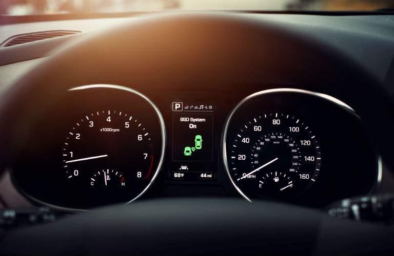 2018 Hyundai Santa Fe Sport Instrument Cluster
