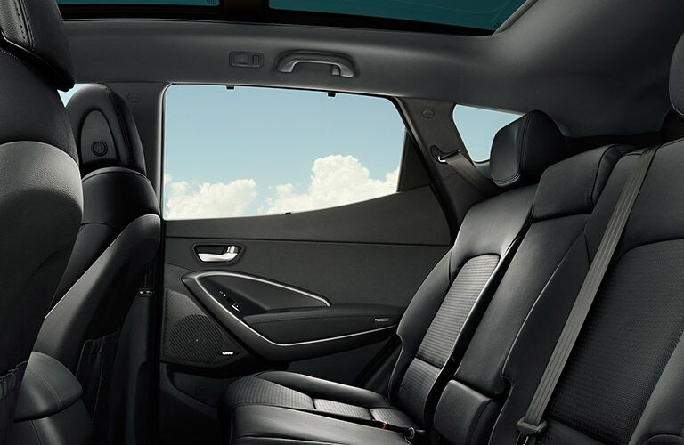 2018 Hyundai Santa Fe Interior Cabin Rear Seat