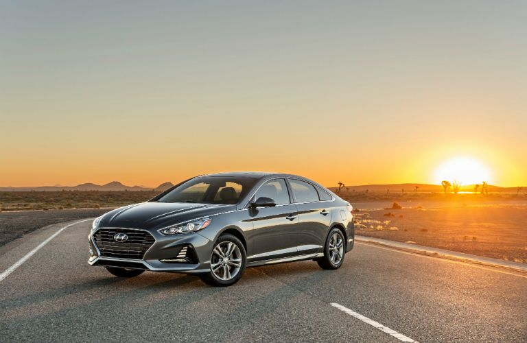 2018 Hyundai Sonata Exterior Driver Side Front Profile