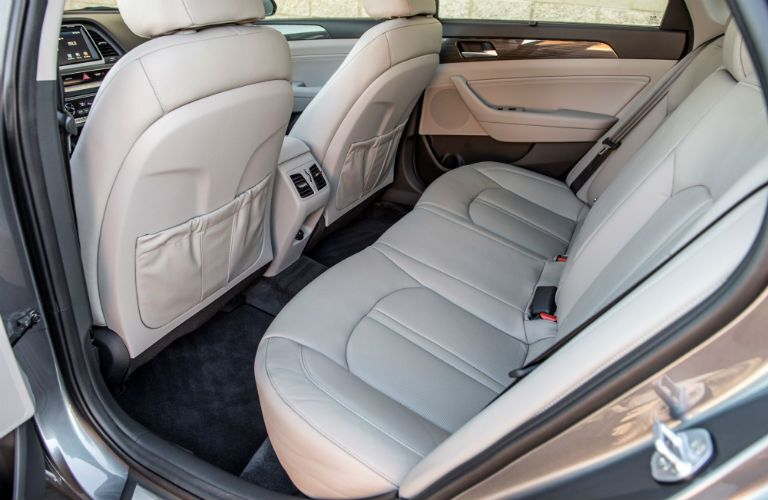2018 Hyundai Sonata Interior Cabin Rear Seating