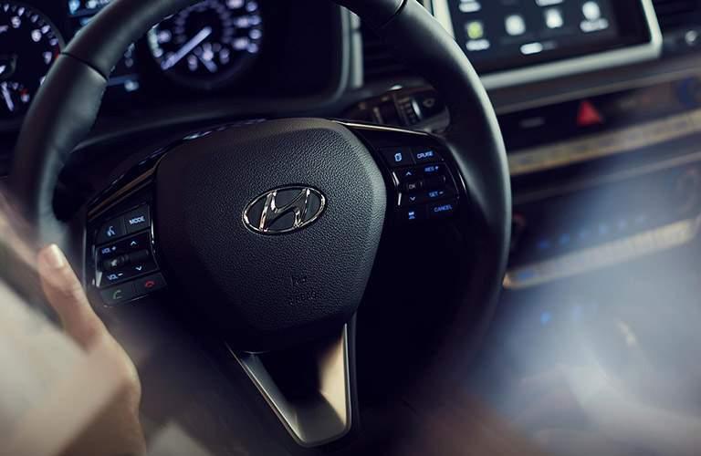 2018 Hyundai Sonata Interior Cabin Dashboard Steering Wheel
