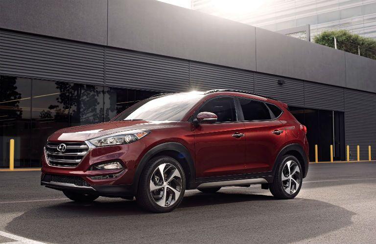 2018 Hyundai Tucson Exterior Driver Side Front