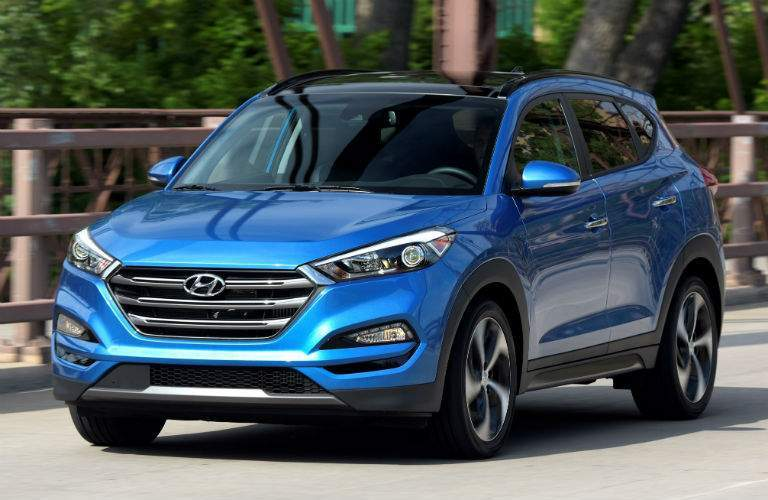 2018 Hyundai Tucson Exterior Front Driver Side Profile