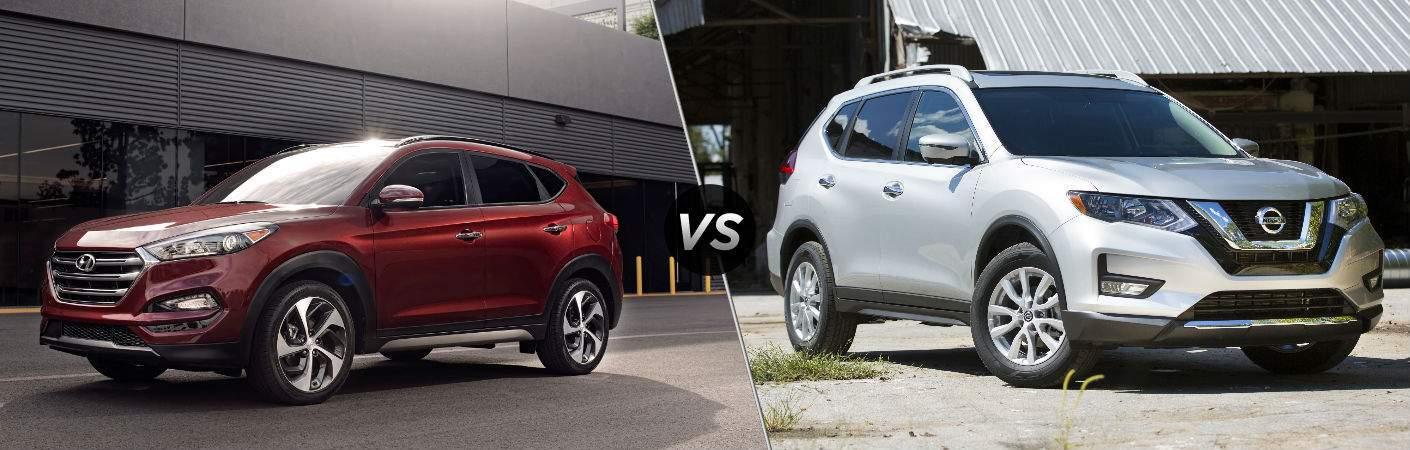 2018 Hyundai Tucson vs 2018 Nissan Rogue