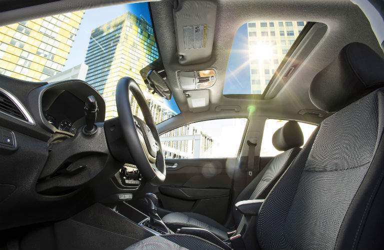 2018 Hyundai Accent Interior Cabin Front Seat