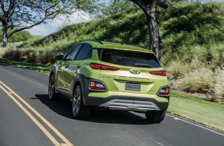 2018 Hyundai Kona Exterior Driver Side Rear