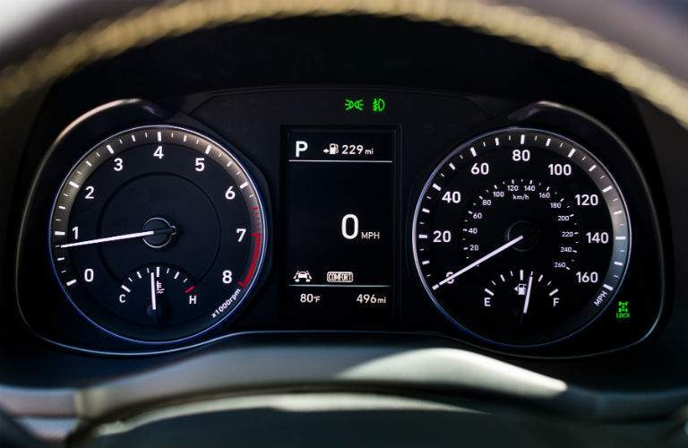 2018 Hyundai Kona Interior Cabin Instrument Cluster
