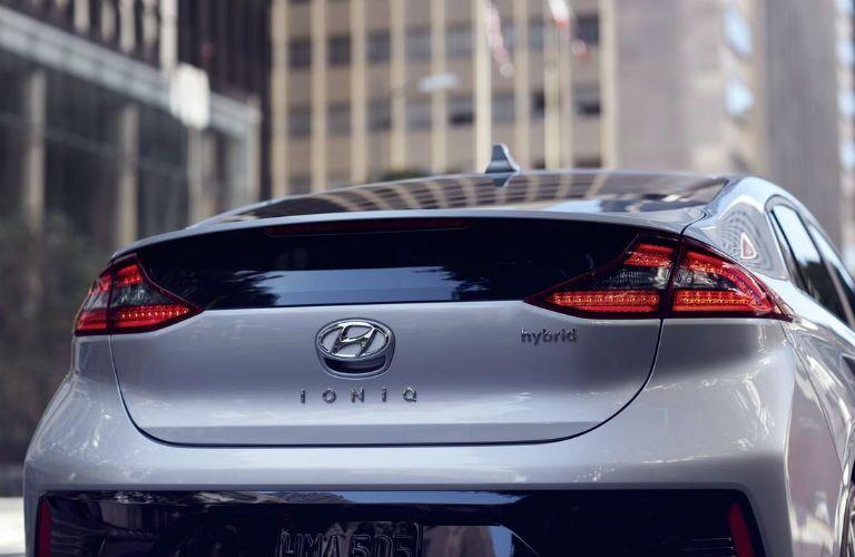 2019 Hyundai Ioniq Exterior Rear Fascia