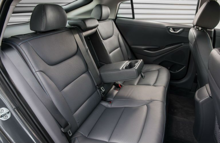 2019 Hyundai Ioniq Interior Cabin Rear Seating