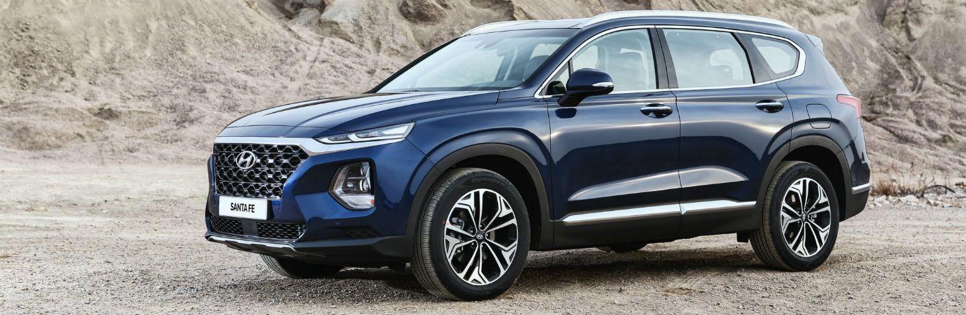 Hyundai Santa Fe side profile