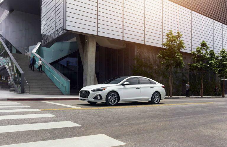 2019 Hyundai Sonata Exterior Driver Side Front Profile