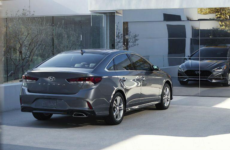 2019 Hyundai Sonata Exterior Passenger Side Rear Profile
