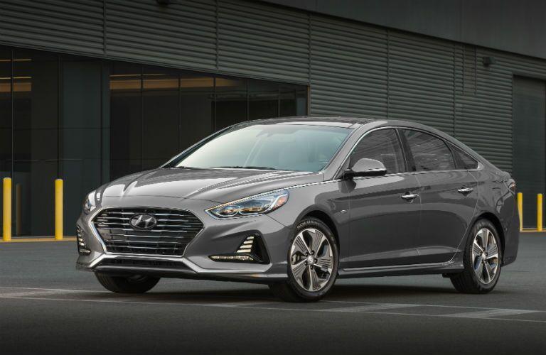 2019 Hyundai Sonata Hybrid Exterior Driver Side Front Profile