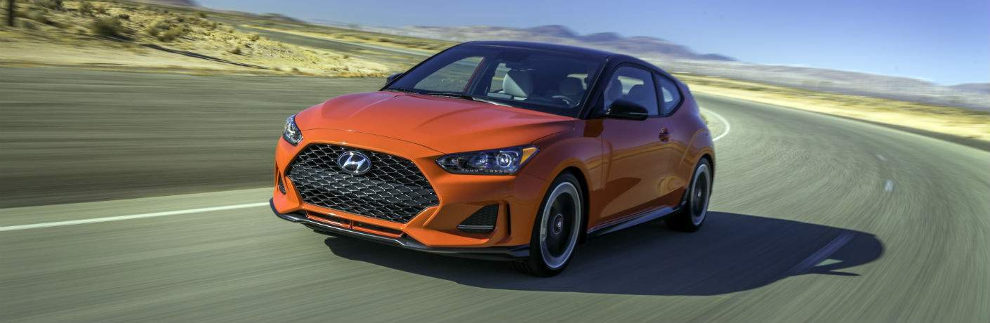 2019 Hyundai Veloster Exterior Driver Side Front