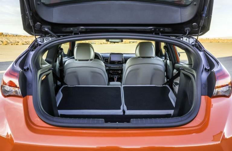 2019 Hyundai Veloster Interior Cabin Cargo Area Seats Flat
