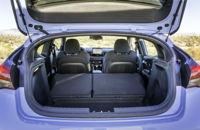 2019 Hyundai Veloster N Interior Cargo Area
