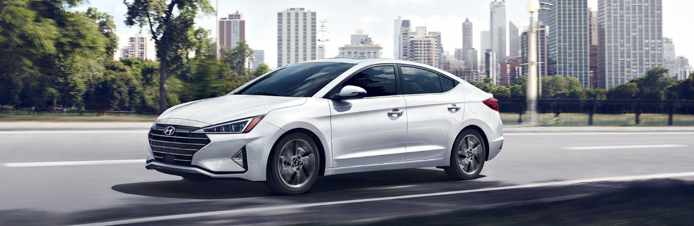 2020 Hyundai Elantra Exterior Driver Side Front Profile